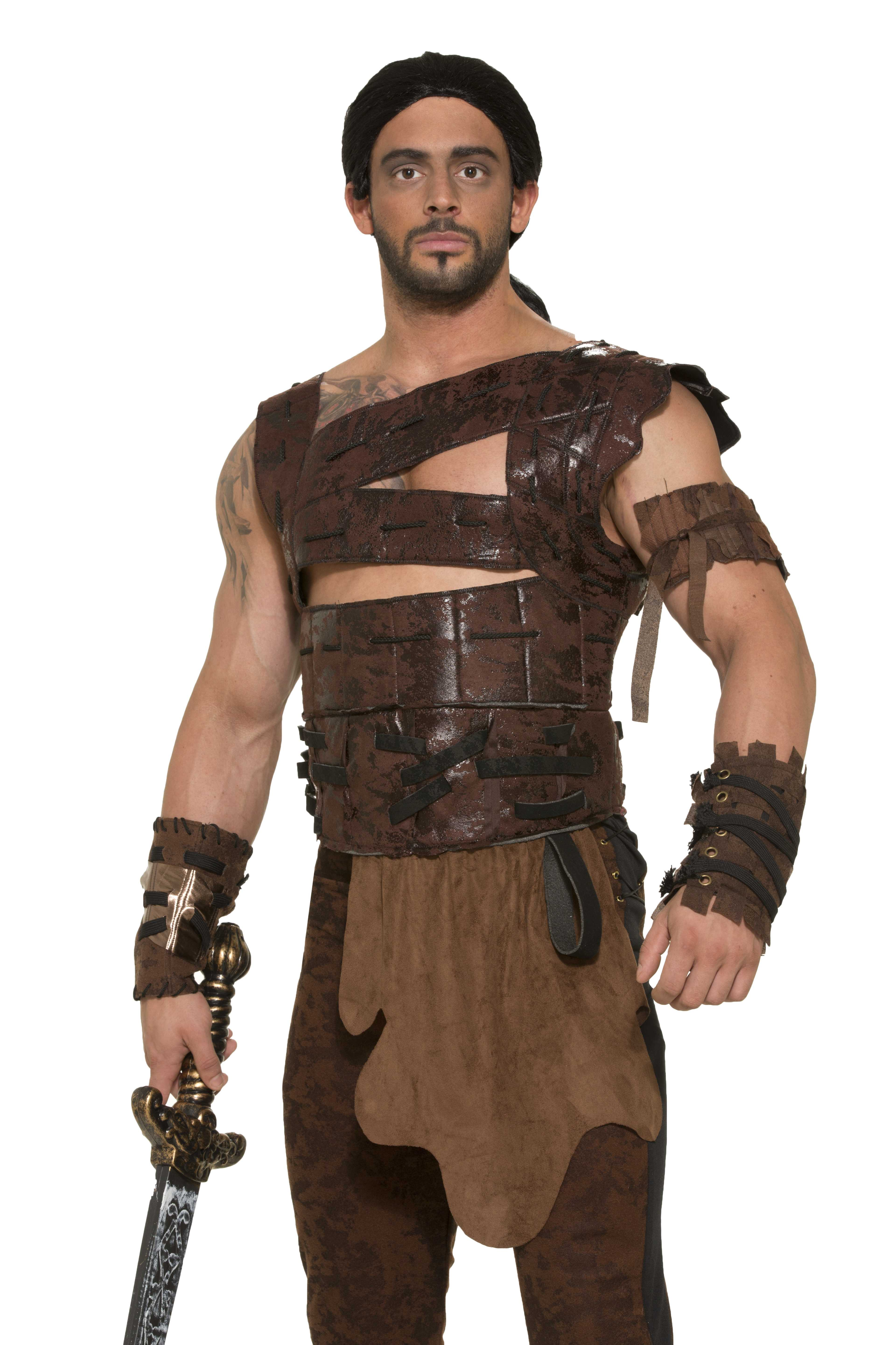 72856 Faux Leather Armor Male