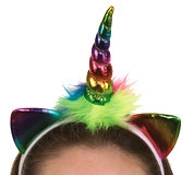 28769 Rainbow Unicorn Headpiece