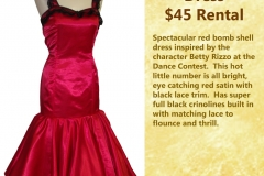 Rizzo Red Party Dress