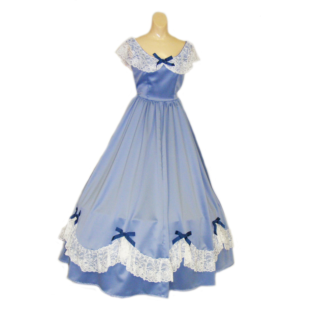 Belle Gown – Blue #1 – Beauty and the Beast Costumes, Chattanooga