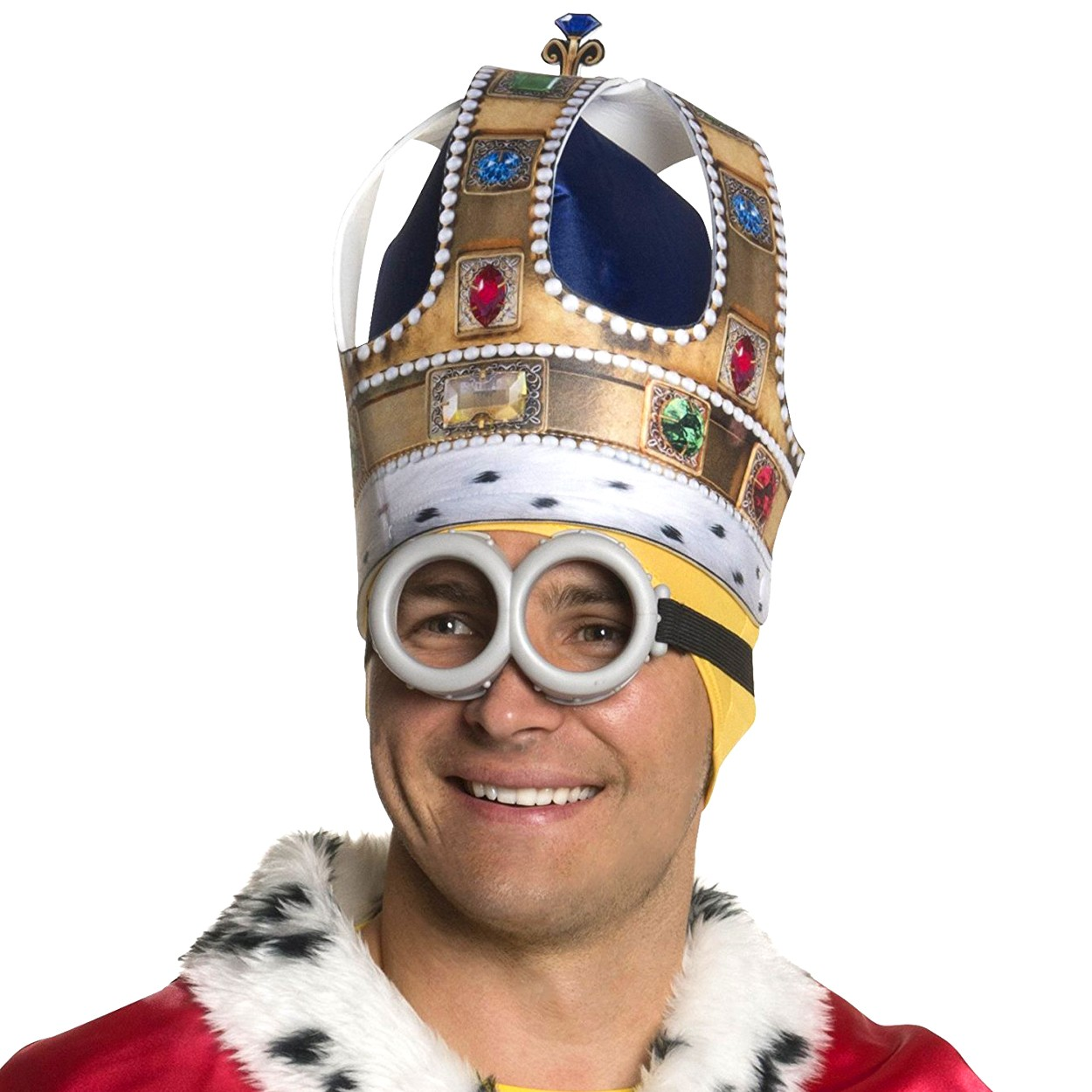 Minions King Bob Crown  sc 1 st  Beauty and the Beast Costumes Chattanooga & Minions King Bob Crown u2013 Beauty and the Beast Costumes Chattanooga
